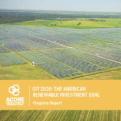 Renewables Still One of Best Investment Opportunities for Large Financial Companies