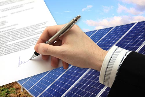 Buying solar lease