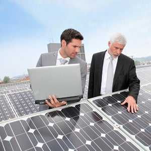 What's a solar lease or solar power-purchase agreement?