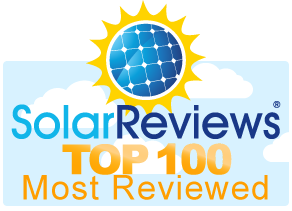 SolarReviews.com top 100 most reviewed